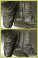 ブーツクリーニング ブーツ染め直し ブーツ色褪せ