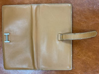 エルメス ベアン財布の染め直し アフター01
