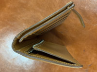 エルメス ベアン財布の染め直し アフター03