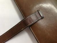 エルメス ベアン財布のステッチ補強 アフター01