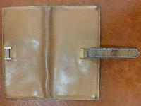 エルメスベアン財布のクリーニング ビフォー01