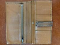 エルメス ベアン財布のクリーニング ビフォー02