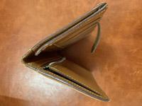 エルメス ベアン財布のクリーニング ビフォー03